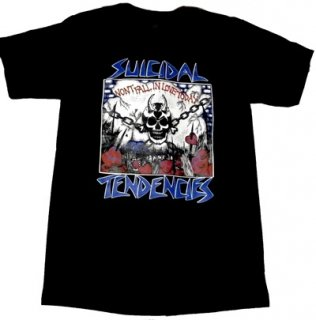 SUICIDAL TENDENCIES「WON'T FALL IN LOVE」Tシャツ<img class='new_mark_img2' src='//img.shop-pro.jp/img/new/icons11.gif' style='border:none;display:inline;margin:0px;padding:0px;width:auto;' />