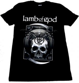 LAMB OF GOD「SICKLE SKULL」Tシャツ<img class='new_mark_img2' src='//img.shop-pro.jp/img/new/icons11.gif' style='border:none;display:inline;margin:0px;padding:0px;width:auto;' />