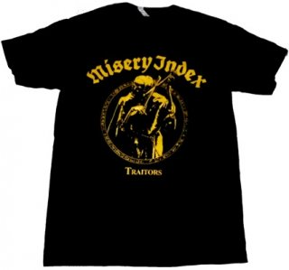 MISERY INDEX「TRAITORS」Tシャツ<img class='new_mark_img2' src='//img.shop-pro.jp/img/new/icons52.gif' style='border:none;display:inline;margin:0px;padding:0px;width:auto;' />
