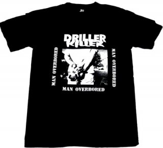DRILLER KILLER「MAN OVERBORED」Tシャツ<img class='new_mark_img2' src='//img.shop-pro.jp/img/new/icons52.gif' style='border:none;display:inline;margin:0px;padding:0px;width:auto;' />