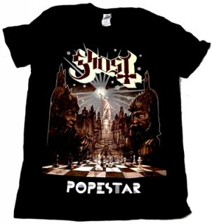 GHOST(B.C)「POPSESTAR」Tシャツ<img class='new_mark_img2' src='//img.shop-pro.jp/img/new/icons52.gif' style='border:none;display:inline;margin:0px;padding:0px;width:auto;' />