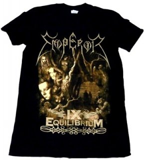 EMPEROR「IX EQUILIBRIUM」Tシャツ<img class='new_mark_img2' src='//img.shop-pro.jp/img/new/icons52.gif' style='border:none;display:inline;margin:0px;padding:0px;width:auto;' />
