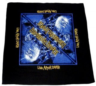IRON MAIDEN「LIVE AFTER DEATH」バンダナ