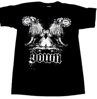 DOWN「DOUBLE LION」Tシャツ<img class='new_mark_img2' src='//img.shop-pro.jp/img/new/icons52.gif' style='border:none;display:inline;margin:0px;padding:0px;width:auto;' />