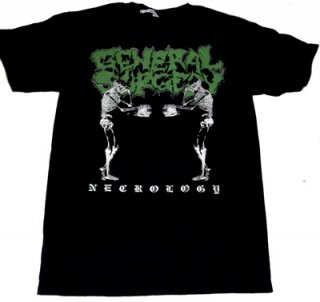 GENERAL SURGERY「NECROLOGY」Tシャツ<img class='new_mark_img2' src='//img.shop-pro.jp/img/new/icons52.gif' style='border:none;display:inline;margin:0px;padding:0px;width:auto;' />