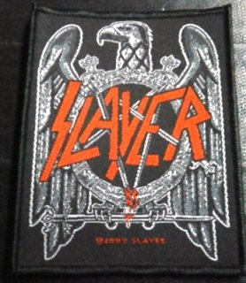 SLAYER「EAGLE BLACK」布刺&#32353;パッチ<img class='new_mark_img2' src='//img.shop-pro.jp/img/new/icons52.gif' style='border:none;display:inline;margin:0px;padding:0px;width:auto;' />