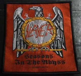 SLAYER「SEASONS IN THE ABYSS」布刺&#32353;パッチ<img class='new_mark_img2' src='//img.shop-pro.jp/img/new/icons52.gif' style='border:none;display:inline;margin:0px;padding:0px;width:auto;' />