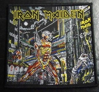 IRON MAIDEN「SOMEWHRE IN TIME」布刺&#32353;パッチ<img class='new_mark_img2' src='//img.shop-pro.jp/img/new/icons11.gif' style='border:none;display:inline;margin:0px;padding:0px;width:auto;' />