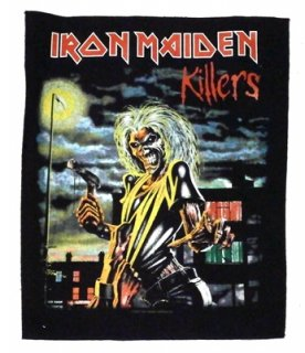 IRON MAIDEN「KILLERS」バックパッチ<img class='new_mark_img2' src='//img.shop-pro.jp/img/new/icons11.gif' style='border:none;display:inline;margin:0px;padding:0px;width:auto;' />