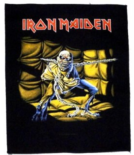 IRON MAIDEN「PIECE OF MIND」バックパッチ<img class='new_mark_img2' src='//img.shop-pro.jp/img/new/icons11.gif' style='border:none;display:inline;margin:0px;padding:0px;width:auto;' />