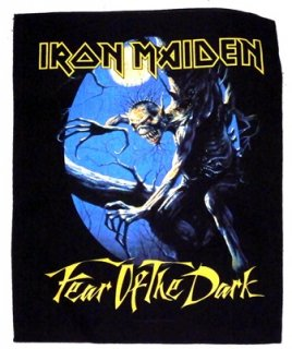 IRON MAIDEN「FEAR OF THE DARK」バックパッチ<img class='new_mark_img2' src='//img.shop-pro.jp/img/new/icons11.gif' style='border:none;display:inline;margin:0px;padding:0px;width:auto;' />