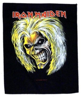 IRON MAIDEN「KILLERS EDDIE」バックパッチ<img class='new_mark_img2' src='//img.shop-pro.jp/img/new/icons11.gif' style='border:none;display:inline;margin:0px;padding:0px;width:auto;' />