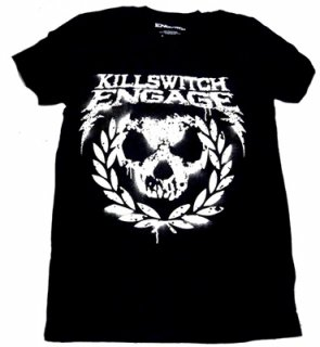 KILLSWITCH ENGAGE「SKULL SPRAYPAINT」Tシャツ<img class='new_mark_img2' src='//img.shop-pro.jp/img/new/icons52.gif' style='border:none;display:inline;margin:0px;padding:0px;width:auto;' />
