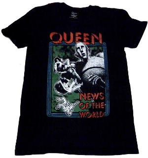 QUEEN「NEW OF THE WORLD」Tシャツ<img class='new_mark_img2' src='//img.shop-pro.jp/img/new/icons52.gif' style='border:none;display:inline;margin:0px;padding:0px;width:auto;' />