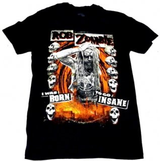 ROB ZOMBIE「BORN TO GO INSANE」Tシャツ<img class='new_mark_img2' src='//img.shop-pro.jp/img/new/icons11.gif' style='border:none;display:inline;margin:0px;padding:0px;width:auto;' />