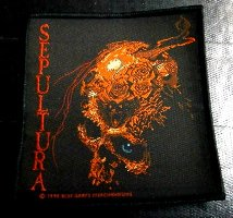 SEPULTURA「BENEATH THE REMAINS」布刺しゅうパッチ