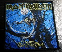 IRON MAIDEN「FEAR OF THE DARK」布刺しゅうパッチ
