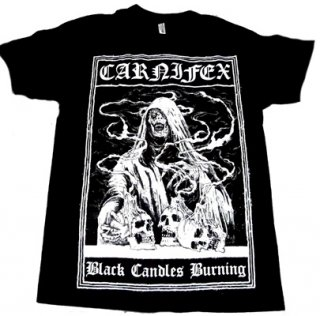 CARNIFEX「BLACK CANDLES BURNING」Tシャツ<img class='new_mark_img2' src='//img.shop-pro.jp/img/new/icons11.gif' style='border:none;display:inline;margin:0px;padding:0px;width:auto;' />