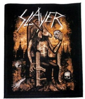 SLAYER「DEVIL ON THRONE」バックパッチ<img class='new_mark_img2' src='//img.shop-pro.jp/img/new/icons11.gif' style='border:none;display:inline;margin:0px;padding:0px;width:auto;' />