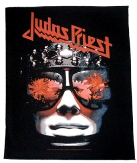 JUDAS PRIEST「HELLBENT FOR LEATHER」布バックパッチ<img class='new_mark_img2' src='//img.shop-pro.jp/img/new/icons52.gif' style='border:none;display:inline;margin:0px;padding:0px;width:auto;' />