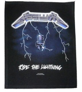 METALLICA「RIDE THE LIGHTNING」布バックパッチ<img class='new_mark_img2' src='//img.shop-pro.jp/img/new/icons52.gif' style='border:none;display:inline;margin:0px;padding:0px;width:auto;' />