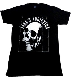 JANE'S ADDICTION「SKULL」Tシャツ<img class='new_mark_img2' src='//img.shop-pro.jp/img/new/icons11.gif' style='border:none;display:inline;margin:0px;padding:0px;width:auto;' />