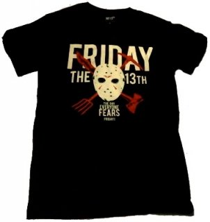 FRIDAY THE 13TH【13日の金曜日】「DAY OF FEAR」Tシャツ<img class='new_mark_img2' src='//img.shop-pro.jp/img/new/icons11.gif' style='border:none;display:inline;margin:0px;padding:0px;width:auto;' />