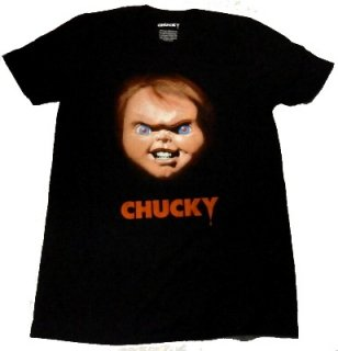 CHILD'S PLAY「CHUCKY FACE」Tシャツ<img class='new_mark_img2' src='//img.shop-pro.jp/img/new/icons11.gif' style='border:none;display:inline;margin:0px;padding:0px;width:auto;' />