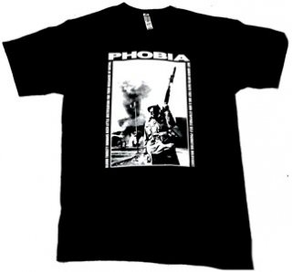 PHOBIA「SOLDIER」Tシャツ