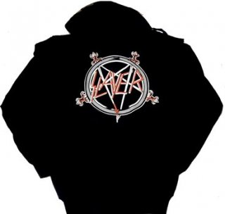 SLAYER「PENTAGRAM」プルオーバーパーカー<img class='new_mark_img2' src='//img.shop-pro.jp/img/new/icons52.gif' style='border:none;display:inline;margin:0px;padding:0px;width:auto;' />