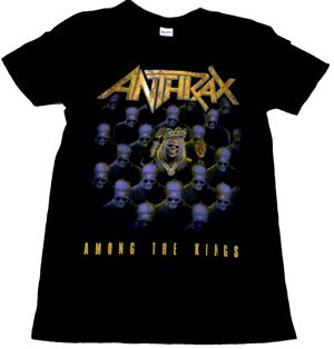 ANTHRAX「AMONG THE KINGS」Tシャツ<img class='new_mark_img2' src='//img.shop-pro.jp/img/new/icons52.gif' style='border:none;display:inline;margin:0px;padding:0px;width:auto;' />