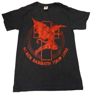 BLACK SABBATH「TOUR 1981」Tシャツ<img class='new_mark_img2' src='//img.shop-pro.jp/img/new/icons52.gif' style='border:none;display:inline;margin:0px;padding:0px;width:auto;' />