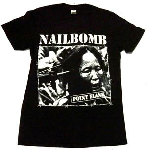 NAILBOMB「POINT BLANK」Tシャツ<img class='new_mark_img2' src='//img.shop-pro.jp/img/new/icons11.gif' style='border:none;display:inline;margin:0px;padding:0px;width:auto;' />