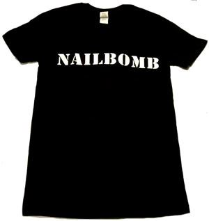 NAILBOMB「LOGO」Tシャツ<img class='new_mark_img2' src='//img.shop-pro.jp/img/new/icons11.gif' style='border:none;display:inline;margin:0px;padding:0px;width:auto;' />