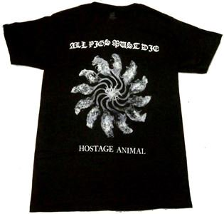 ALL PIGS MUST DIE「HOSTAGE ANIMAL」Tシャツ<img class='new_mark_img2' src='//img.shop-pro.jp/img/new/icons11.gif' style='border:none;display:inline;margin:0px;padding:0px;width:auto;' />