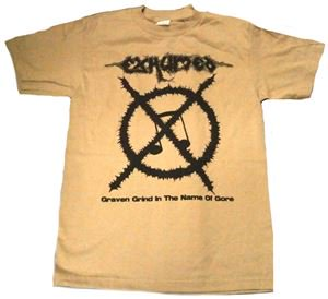 EXHUMED「CARCASS GRINDER SAND」Tシャツ<img class='new_mark_img2' src='//img.shop-pro.jp/img/new/icons52.gif' style='border:none;display:inline;margin:0px;padding:0px;width:auto;' />