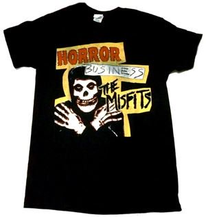 MISFITS「HORROR BUSINESS」Tシャツ<img class='new_mark_img2' src='//img.shop-pro.jp/img/new/icons11.gif' style='border:none;display:inline;margin:0px;padding:0px;width:auto;' />