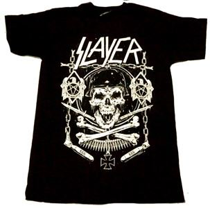 SLAYER「SKULL AND BONES」Tシャツ<img class='new_mark_img2' src='//img.shop-pro.jp/img/new/icons11.gif' style='border:none;display:inline;margin:0px;padding:0px;width:auto;' />