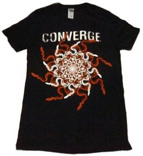 CONVERGE「SNAKES」Tシャツ<img class='new_mark_img2' src='//img.shop-pro.jp/img/new/icons11.gif' style='border:none;display:inline;margin:0px;padding:0px;width:auto;' />