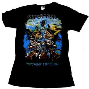 SEPULTURA「MACHINE MESSIAH WORLD TOUR」Tシャツ<img class='new_mark_img2' src='//img.shop-pro.jp/img/new/icons11.gif' style='border:none;display:inline;margin:0px;padding:0px;width:auto;' />