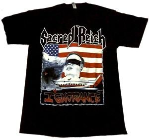 SACRED REICH「IGNORANCE」Tシャツ<img class='new_mark_img2' src='//img.shop-pro.jp/img/new/icons11.gif' style='border:none;display:inline;margin:0px;padding:0px;width:auto;' />