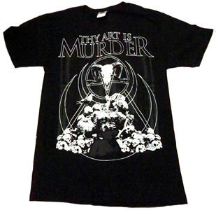 THY ART IS MURDER「DEATH PILE」Tシャツ<img class='new_mark_img2' src='//img.shop-pro.jp/img/new/icons11.gif' style='border:none;display:inline;margin:0px;padding:0px;width:auto;' />