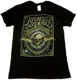 AVENGED SEVENFOLD「ORNATE DEATH BAT」Tシャツ<img class='new_mark_img2' src='//img.shop-pro.jp/img/new/icons11.gif' style='border:none;display:inline;margin:0px;padding:0px;width:auto;' />
