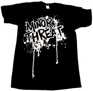 MINOR THREAT「DRIPPING LOGO」Tシャツ<img class='new_mark_img2' src='//img.shop-pro.jp/img/new/icons52.gif' style='border:none;display:inline;margin:0px;padding:0px;width:auto;' />