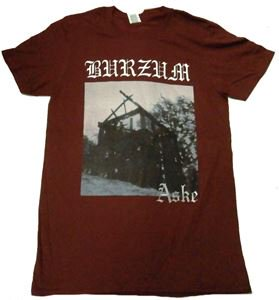 BURZUM「ASKE-MAROON」Tシャツ<img class='new_mark_img2' src='//img.shop-pro.jp/img/new/icons11.gif' style='border:none;display:inline;margin:0px;padding:0px;width:auto;' />