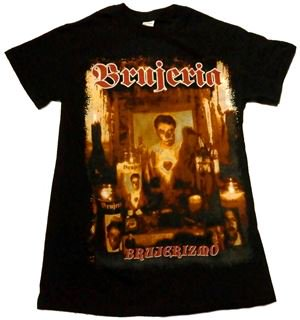 BRUJERIA「BRUJERISMO」Tシャツ<img class='new_mark_img2' src='//img.shop-pro.jp/img/new/icons52.gif' style='border:none;display:inline;margin:0px;padding:0px;width:auto;' />