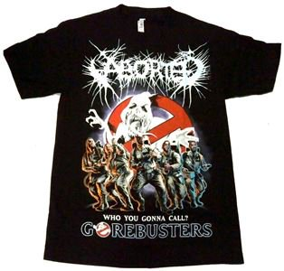 ABORTED「GORE BUSTERS」Tシャツ<img class='new_mark_img2' src='//img.shop-pro.jp/img/new/icons11.gif' style='border:none;display:inline;margin:0px;padding:0px;width:auto;' />