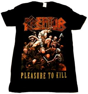 KREATOR「PLEASURE TO KILL#2」Tシャツ<img class='new_mark_img2' src='//img.shop-pro.jp/img/new/icons11.gif' style='border:none;display:inline;margin:0px;padding:0px;width:auto;' />