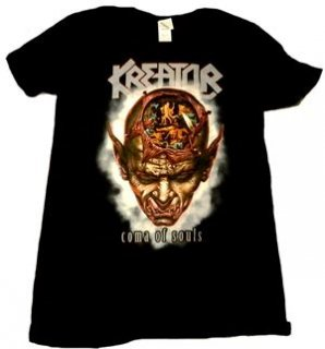 KREATOR「COMA OF SOULS」Tシャツ<img class='new_mark_img2' src='//img.shop-pro.jp/img/new/icons11.gif' style='border:none;display:inline;margin:0px;padding:0px;width:auto;' />