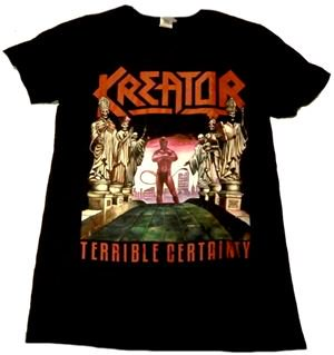 KREATOR「TERRIBLE CERTAINTY」Tシャツ<img class='new_mark_img2' src='//img.shop-pro.jp/img/new/icons52.gif' style='border:none;display:inline;margin:0px;padding:0px;width:auto;' />